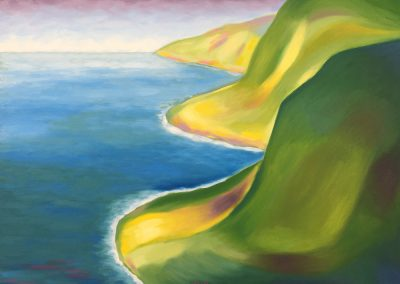 North Kohala Coast | Oil on Canvas | 18x24