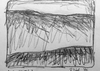 South Mountain 3 | Pencil Sketch