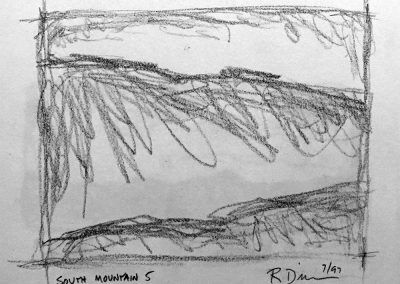South Mountain 5 | Pencil Sketch