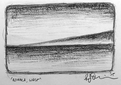 Kohala, West | Pencil Sketch