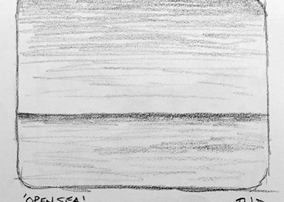 Open Sea | Pencil Sketch