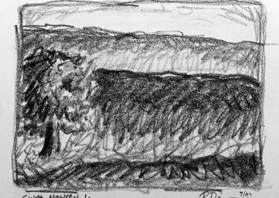 South Mountain 1 | Pencil Sketch