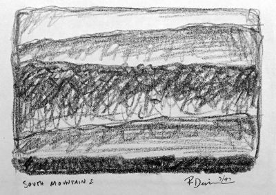 South Mountain 2 | Pencil Sketch