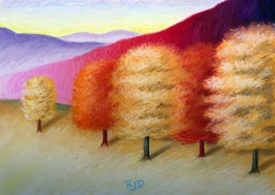 Tree Grouping 2 | Pastel | 11x15