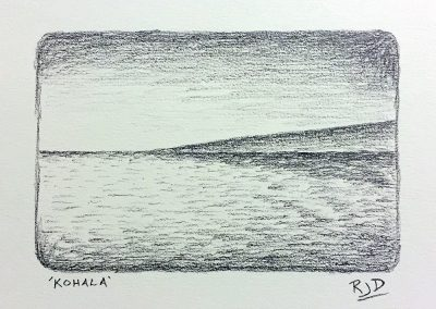 Kohala | Pencil | 9x12