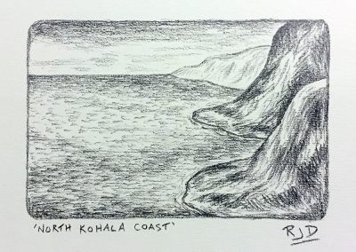 North Kohala Coast | Pencil | 9x12