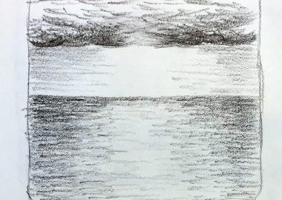 Shimmer | Pencil Sketch