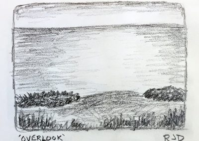 Overlook | Pencil Sketch