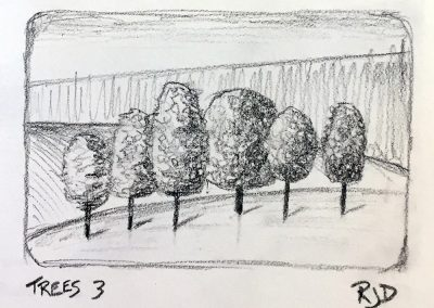 Trees 3 | Pencil Sketch