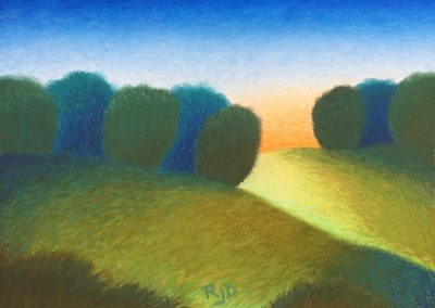 Near and Farther 2   Pastel   9x12