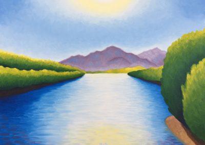 Lower Salt River | Oil on Canvas | 18x24