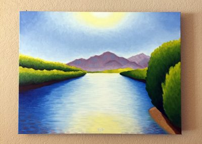 Lower Salt River | Oil on Canvas | 18x24