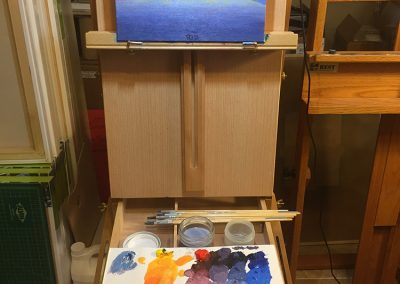 ON-THE-EASEL_BARTLETT-LAKE-DUSK_750x1000
