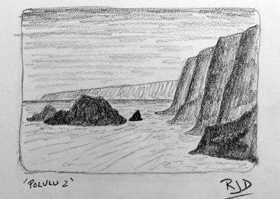Pololu 2 | Pencil Sketch