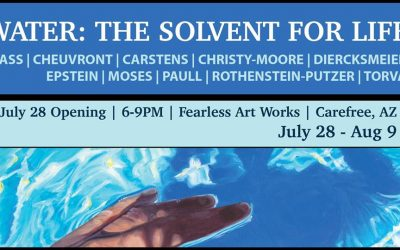 """""""WATER: The Solvent for Life"""" Show at Fearless Art Works Gallery"""
