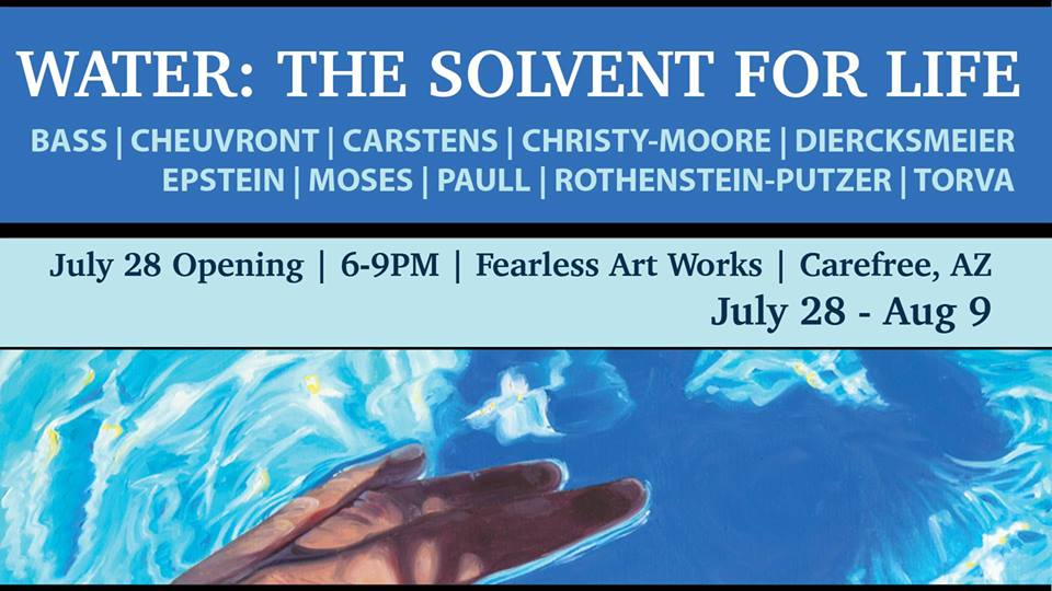 """WATER: The Solvent for Life"" Show at Fearless Art Works Gallery"