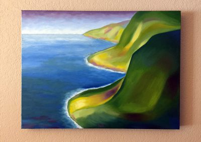North Kohala Coast | Oil on Canvas | 18x24