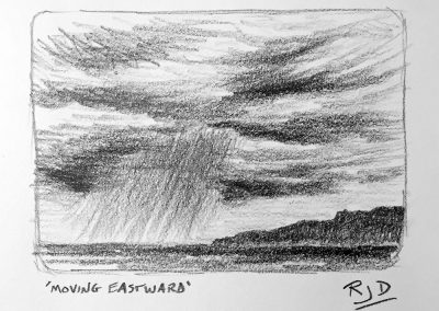 Moving Eastward | Pencil Sketch