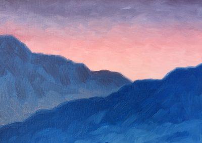 Fading Light | Oil on Panel | 8x10