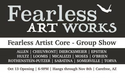 UPCOMING SHOW: Fearless Art Works Core Group Show