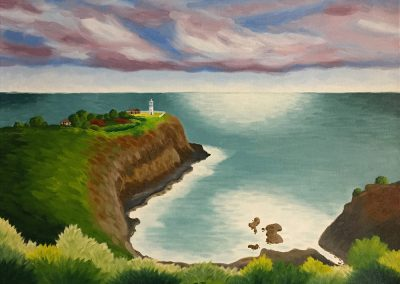 Kilauea Lighthouse | Commission | Oil on Canvas | 18x24