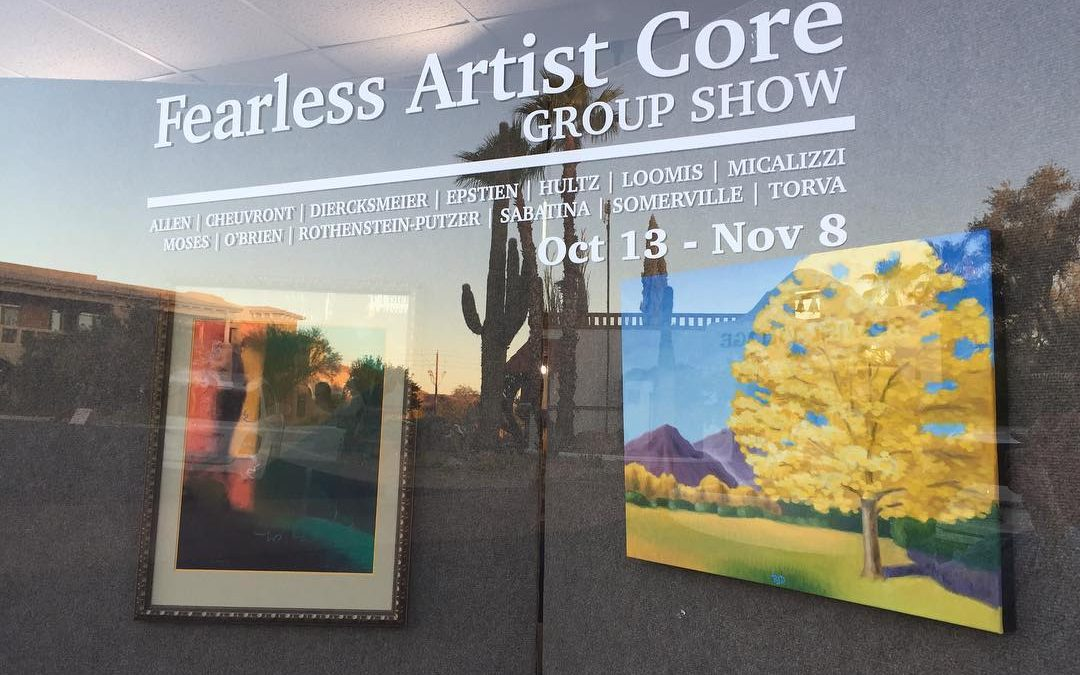 GALLERY OPENING: Fearless Art Works Core Group Show