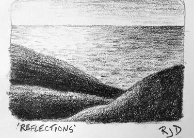 Reflections | Pencil Sketch