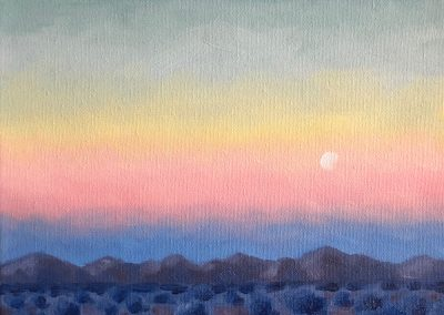"""McDowell Moonrise"" 