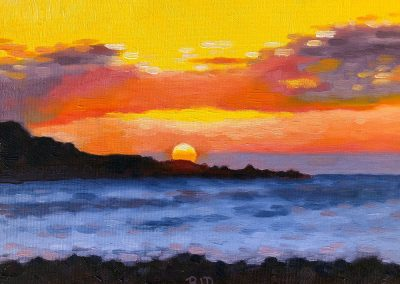 """Kona Sunset"" 