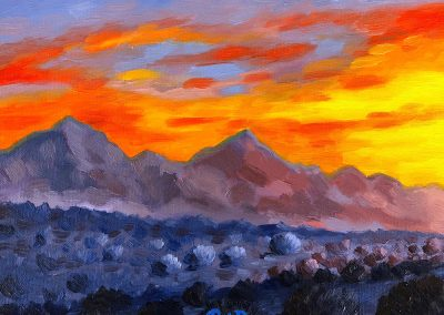 """McDowell Sunrise"" 